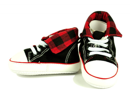 Red Checkered Hightop