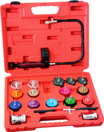 COOLING SYSTEM AND RADIATOR CAP PRESSURE TESTER