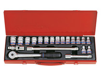 "SOCKET SET 20pc 1/2""Dv King Tony 4220MR"