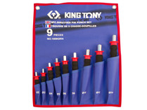 PIN PUNCH SET King Tony     1009GRN