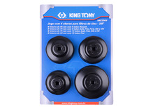 OIL FILTER CUP SET 4pc King tony  9AE2004