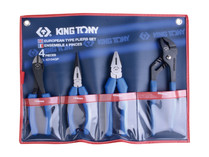 PLIER SET 4pc King Tony 42124GP