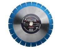 "Diamond saw blade 14"" segmented SILENT superior quality"
