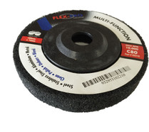 "MULTIFUNCTION POLISHING DISCS 4"" black 80g FLEX-PRO"