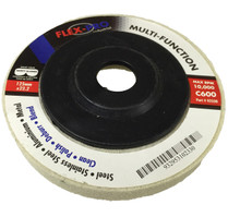 "Multi Function Polishing Disc 5"" white 600g FLEX-PRO"