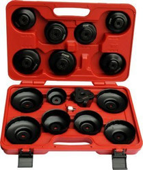 16pc Oil filter socket wrench set