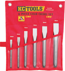 6pc Cold Chisel Set KC Tools