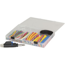 161 piece Heat shrink assortment kit