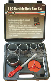 8pc Carbide  Hole saw set for masonry