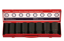 "Copy of 3/4""DRIVE Impact Socket set 8pc Genius MET"