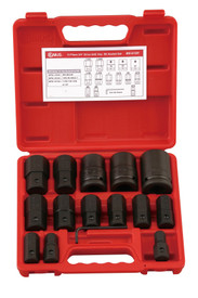 "Genius 15pc x  3/4""Drive INHEX Hex Bit socket set imperial"