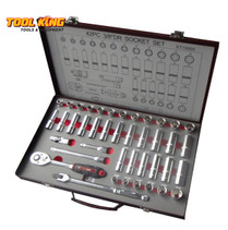 "SOCKET SET 42pc Deep and standard 3/8"" dv Eurotech"