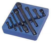 9pc Socket extension bar set IMPACT  Genius