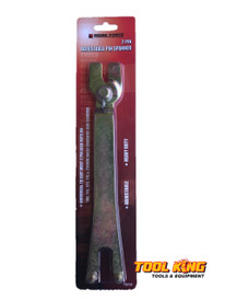 "LARGE adjustable Angle grinder spanner  7"" 9"" etc"