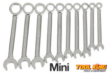 Mini Spanner set 10pc 4mm to 11mm