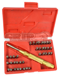 37pc  Automatic Number and Letter stamping set