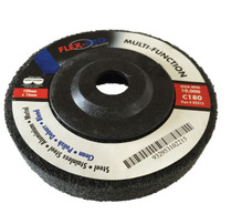 "MULTIFUNCTION POLISHING DISCS 4"" grey 180g FLEX-PRO"