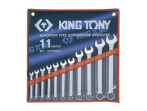 SPANNER SET 11pc SAE KING TONY