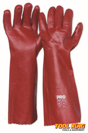 Chemical gloves 45cm long rubber glove