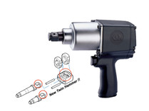 "AIR IMPACT WRENCH Super duty 3/4"" drive King Tony 33611-055"