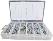 1000pc Pop Rivet Assortment Kit