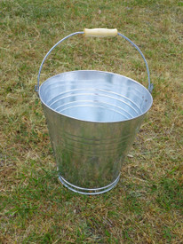 BUCKET Galvanized steel