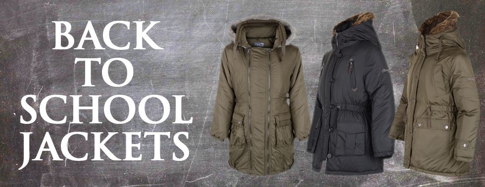 Girls Parka Jackets