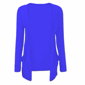 Long Sleeve Young Girls Cardigan - Blue