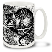 Alice In Wonderland Cheshire Cat - 15 oz Coffee Mug