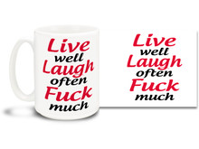 Follow these words to live by & drink your favorite beverage from this awesome coffee mug! 15oz skulls coffee mug is durable, dishwasher and microwave safe.