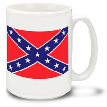 Confederate Rebel Flag Stars 'n Bars Coffee Mug - 15oz. Mug