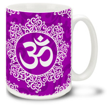 Ornate Om  - 15oz Mug