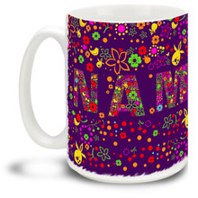 Namaste Full Wrap - 15oz Mug