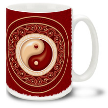 Fancy Yin Yang - 15oz Mug