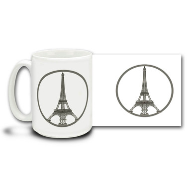 In the face of terror and adversity, Paris celebrates music, love, life, champagne and joy! Live unafraid and free with a Paris peace mug. #parisisaboutlife #PrayForParis #Paris #JeSuisParis
