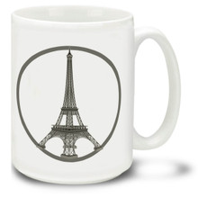 Paris Peace - 15 oz Coffee Mug