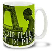 Paris Chartreuse Hope Blossoms - 15 oz Coffee Mug