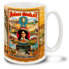 Annie Oakley Show Poster - 15 oz. Mug