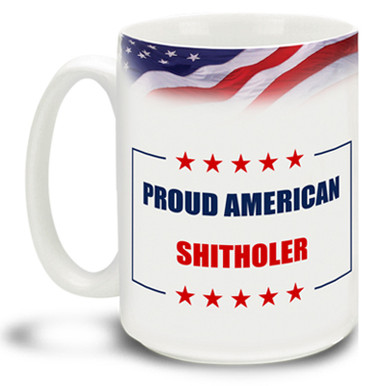This mug speaks for itself. Stand by your President and make America great again with this beautiful pro-trump ceramic mug.