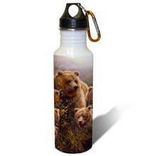 Denali Family Grizzlies - 22oz. Stainless Steel Water Bottle
