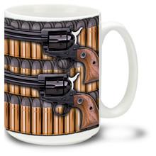 Western Style Six Shooter - 15oz. Mug