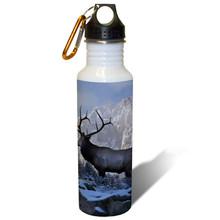 Top of the World Bull Elk - 22oz. Stainless Steel Water Bottle