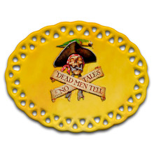 Dead Men Tell No Tales Pirate - Ceramic Ornament