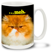 Grumpy Cat – Meh - 15oz. Mug