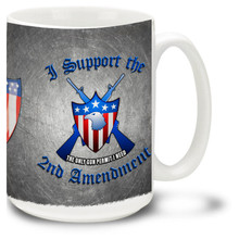 Support the 2nd Amendment Coffee Mug - 15oz. Mug
