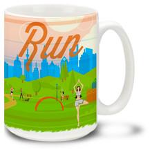 Run Motivation Running Exercise - 15oz. Mug