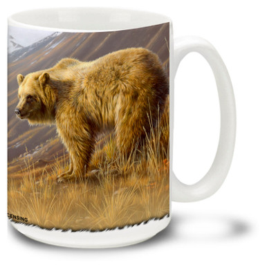 The noble Grizzly bear is the king of the valley in this lovely scene.