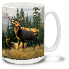 Meadows Edge Elk - 15oz. Mug
