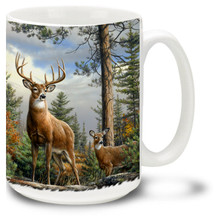 Beautiful Deer standing proud in a lovely forest.