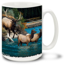 Athabasca Crossing Elk - 15oz. Mug